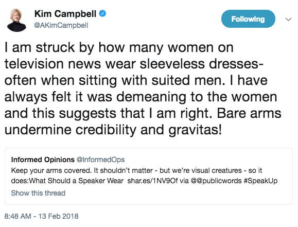 Women Journalists Clapped Back At Kim Campbell For Saying