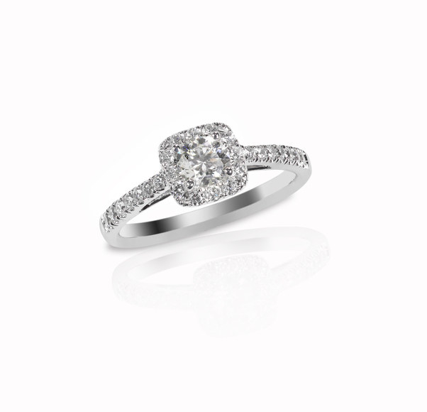 Consider a cluster of smaller diamonds, as opposed to a solitaire.