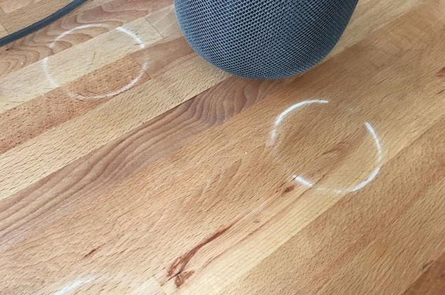 Apple's New HomePod Is Leaving Mysterious White Rings On Wood Tables