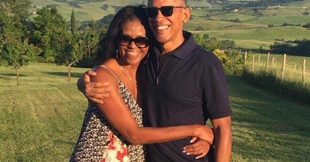 Barack And Michelle Obama Just Wished Each Other A Happy Valentine's In The Best Possible Way
