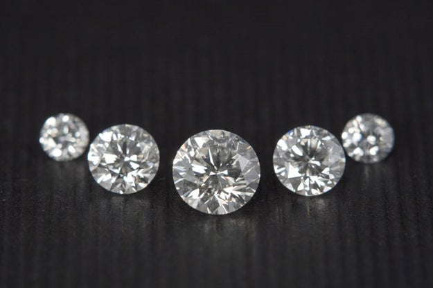 If you need to buy a solitaire with inclusions or K color, make it a round brilliant stone.