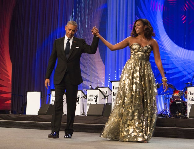 Ok, so you know Barack and Michelle Obama. Former president and first lady. Legend and icon. King and queen.