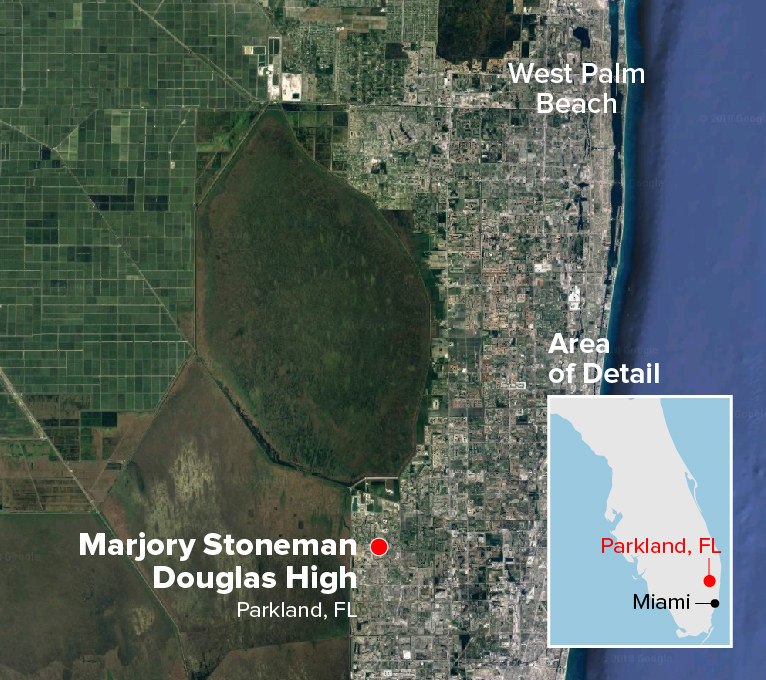 At Least 17 People Are Dead In A Florida School Shooting