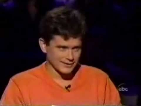 This, folks, is Bernie Cullen. In 2001, he won a million dollars on Who Wants to Be a Millionaire?