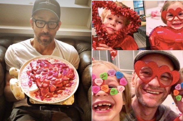 Here's How 24 Celebs Celebrated Valentine's Day This Year