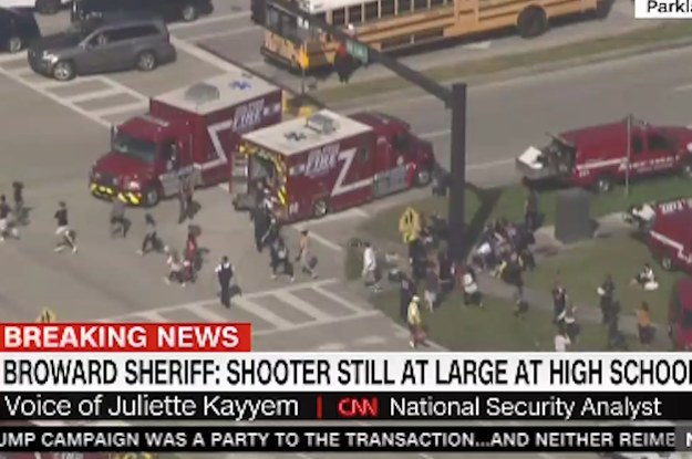 Multiple People Have Reportedly Been Injured In Florida School Shooting