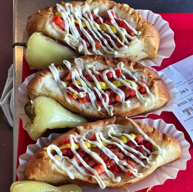 Arizona: Sonoran hot dogs.