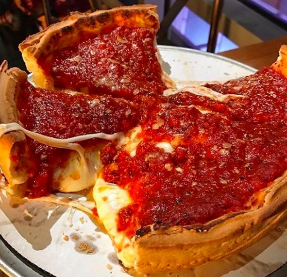 Illinois: Deep-dish pizza.