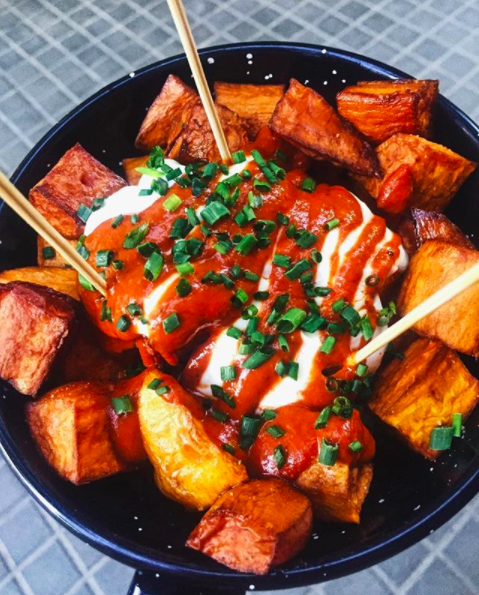 Sweet Potato Bravas from Bar Centro