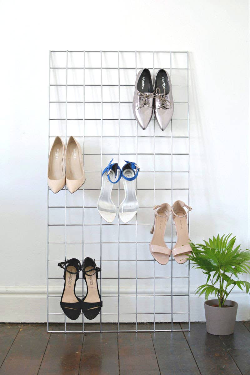 Read more about making your own shoe grid here.