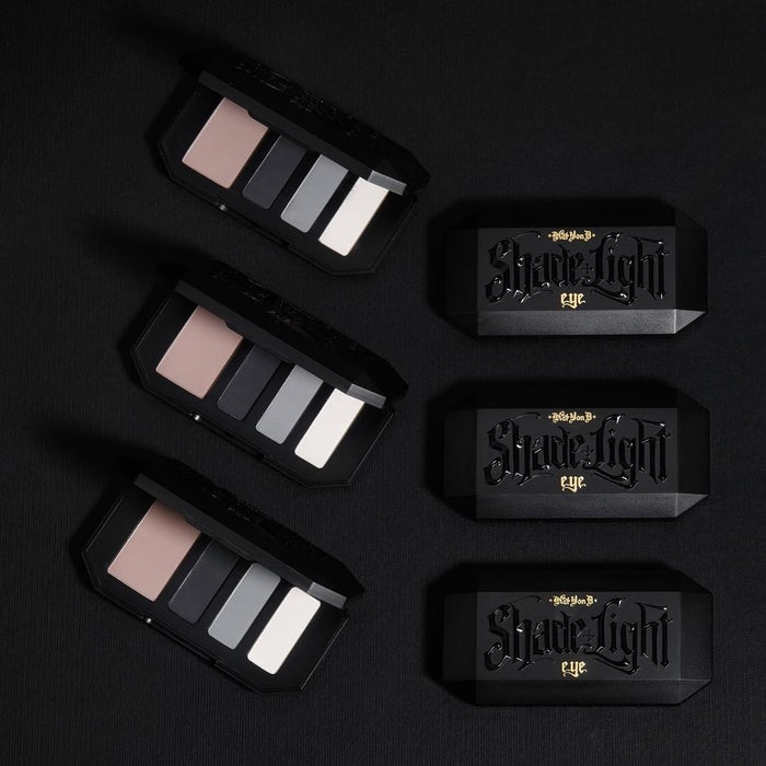 """Each color has a purpose: a neutral base, contour shade, defining shade, and then highlight. Fret not, novices, this palette is carefully mapped out for you and has an easy-to-follow instructional insert by Kat Von D herself! Promising review: """"This quad is your purple smokey eye staple! KVD eyeshadows are crazy pigmented, creamy, and practically blend themselves! I love these little sets. It's everything you need for a complete eye look. Her mattes ate amazing! The best part is they're on sale! You cant beat this low price for great quality."""" —Jillian21Get it from Sephora for $15 (originally $22)."""