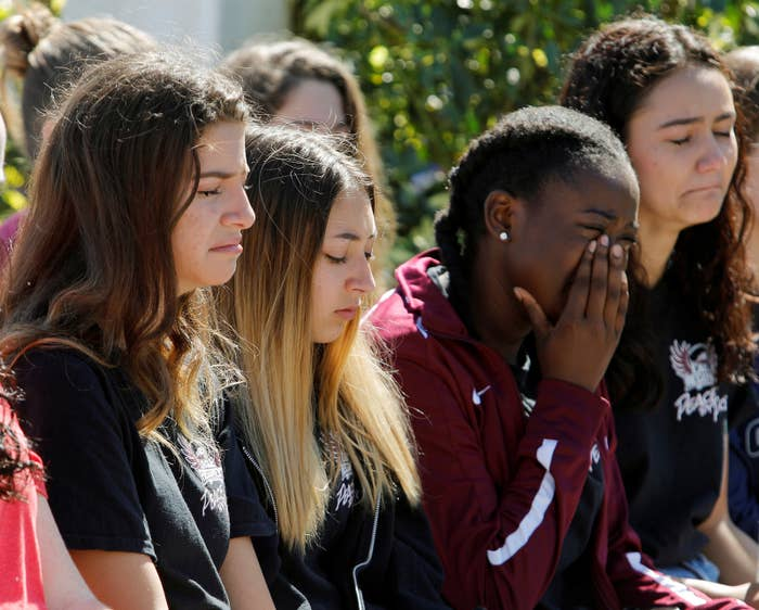 On Wednesday, a former student armed with a semiautomatic rifle began firing on campus, and then inside the high school, before he was detained by authorities. The victims included students, teachers, and coaches.As the shooting was happening, scenes of horror inside and outside the school were documented live and shared to social media. Students also sent their friends and parents heartbreaking texts as their fates remained unknown.
