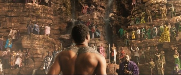 While most of the movie is set in the fictional African nation of Wakanda, the film also addresses themes on the black American experience, Pan-Africanism, and the history of colonization.