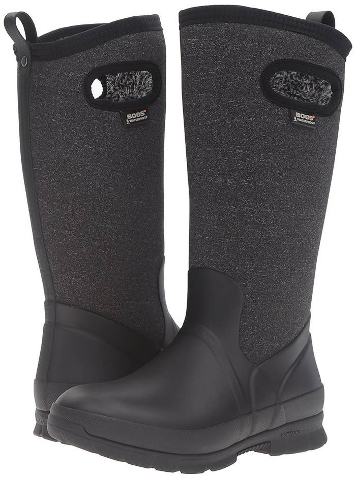 a4d58d8f2358 Bogs boots to keep your feet dry and warm no matter how slushy the roads  are.