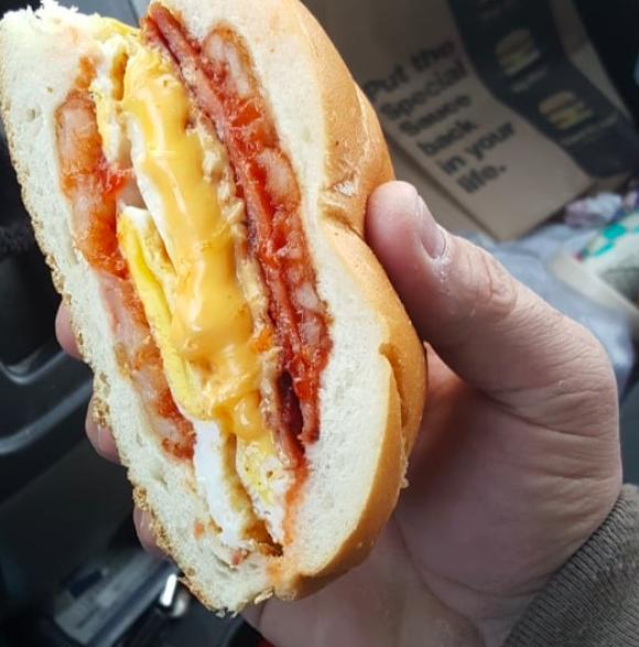New Jersey: Pork rolls.
