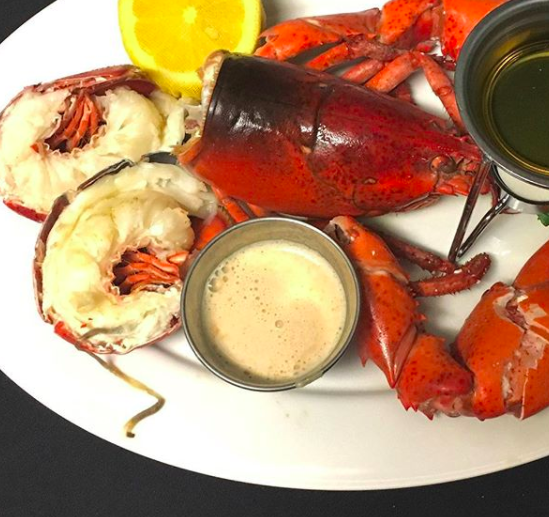 Maine: Lobster.