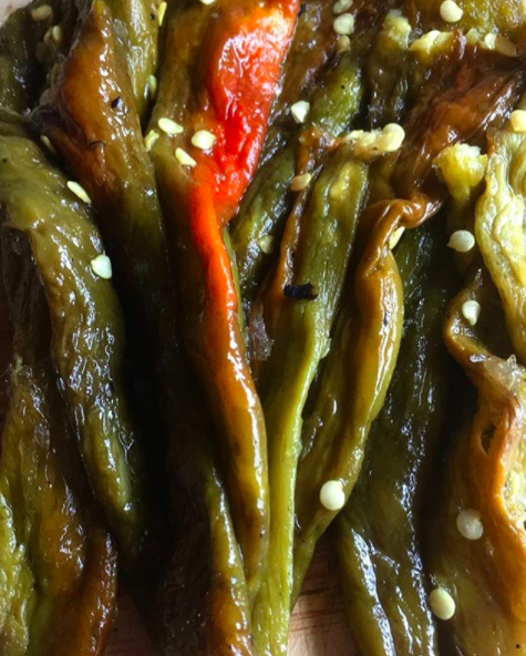 New Mexico: Green chile.