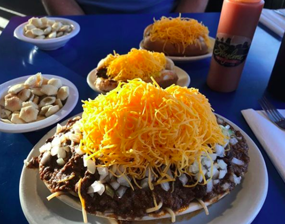 Ohio: Skyline chili.