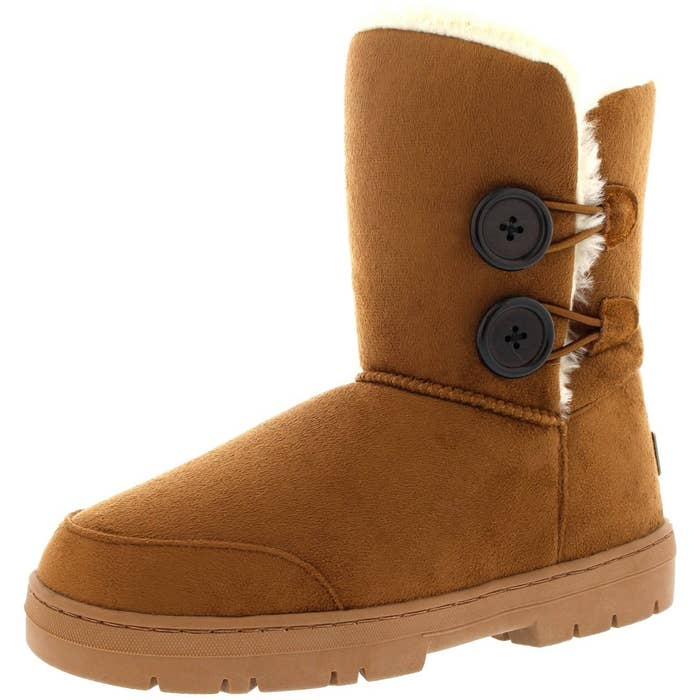 bac042a1e Inexpensive UGG-like boots that'll make you feel like your slipping your  feet into a pillow.