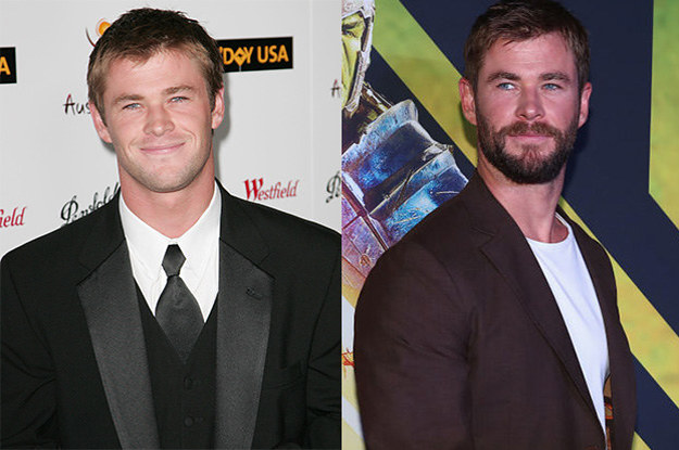 """Here Are 21 Superhero Actor Glow-Ups That'll Make You Say """"Damn!"""""""