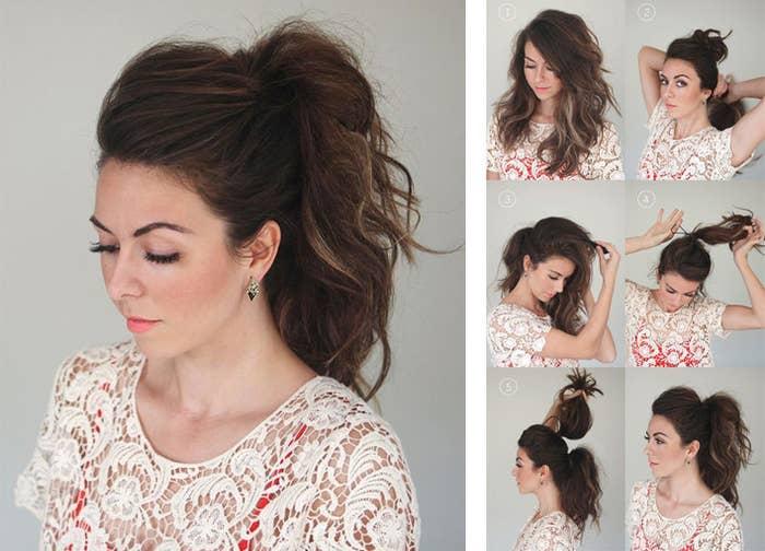 17 Peinados Rápidos Para Chicas De Pelo Largo Y Con Poco