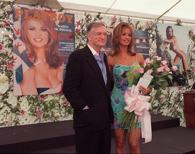 McDougal, Playmate of the Year 1998, met Donald Trump in June 2006 at a pool party at Playboy Mansion.