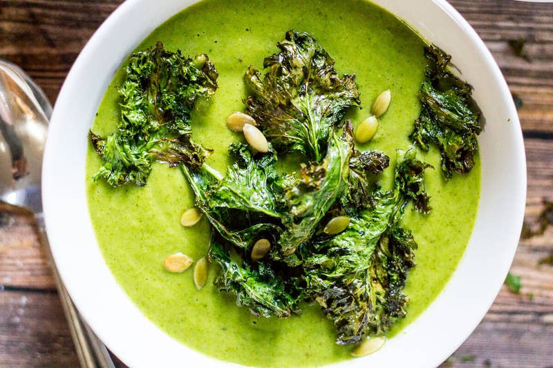 Try this without the kale chips to make it even easier. Get the recipe here.