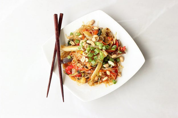 Vegetable Stir-Fry with Kelp Noodles