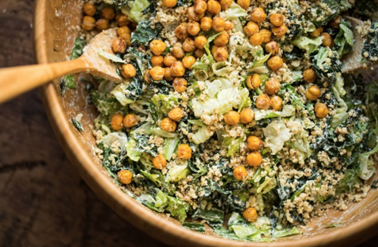 This salad is proof that you can swap anchovies for capers and no one will tell the difference. Get the recipe here.