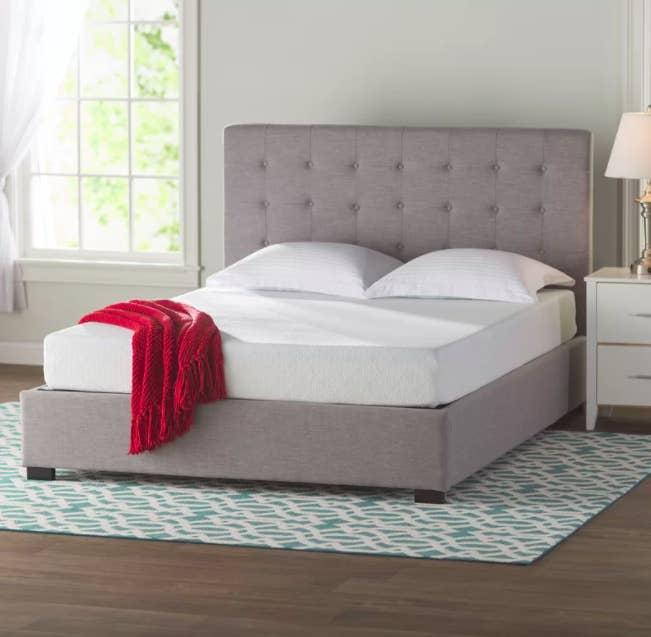 Get the Wayfair sleep gel memory foam mattress here or shop mattresses here.