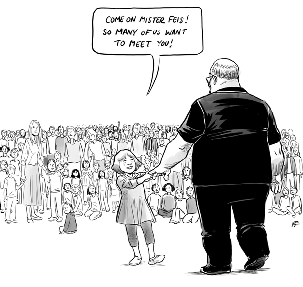 School Shooting Canada: Crazy World We Live: This Cartoon Showing A Hero From
