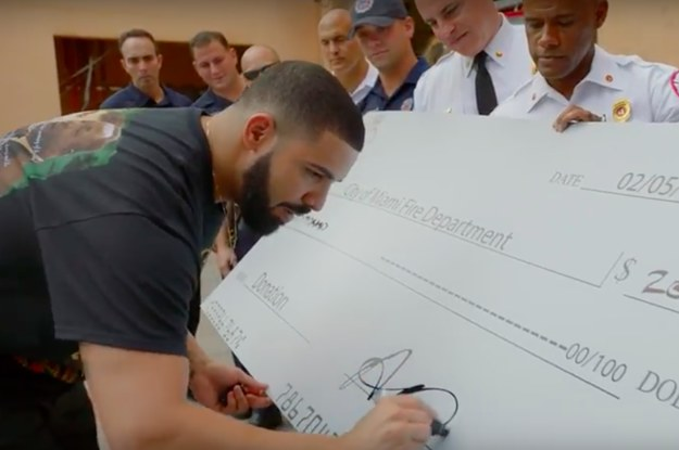"Drake Dropped His ""God's Plan"" Music Video And Revealed He Gave Nearly $1 Million Away"