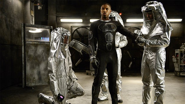 And it also isn't the first time you'll see Michael B. Jordan in a Marvel movie.