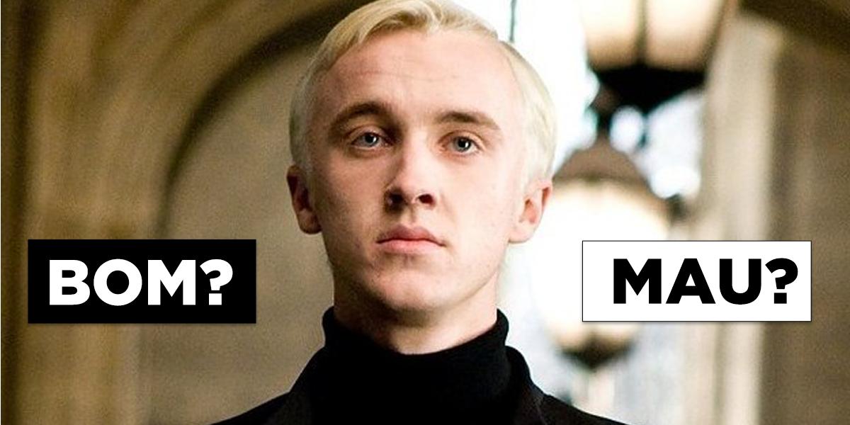 Sua opinião sobre estes personagens de Harry Potter vai revelar qual é sua casa DE VERDADE em Hogwarts
