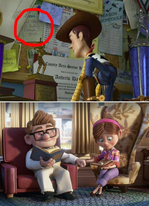 27 Disney Movie Easter Eggs You Ve Never Noticed Before