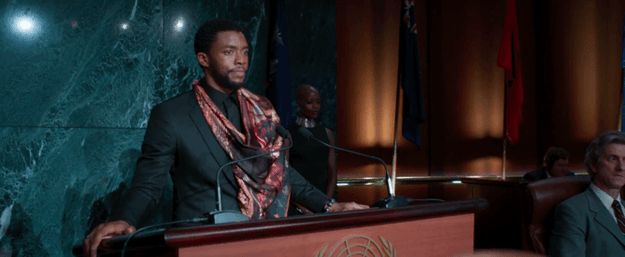 Finally, be sure to stay through the end of the film — Black Panther has TWO important post-credit scenes.