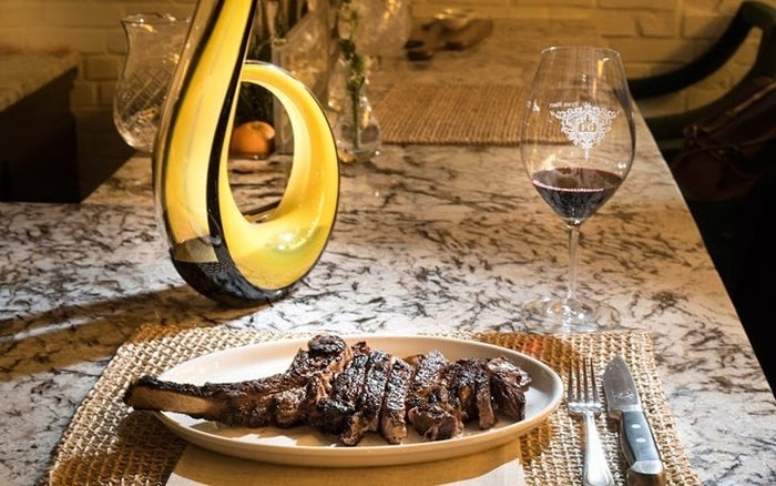 Closed on Sunday's but refusing to miss the celebration, Greenwich Steakhouse (62 Greenwich Ave) will offer discounts on select house wine today 2/16. $9 glasses/ $59 bottles of their Judson Hale Winery 2012 Chardonnay and $8 glasses/ $39 bottles of Aymara Reserve Cabernet Sauvignon 2014 is what will be served. For more information visit their website.