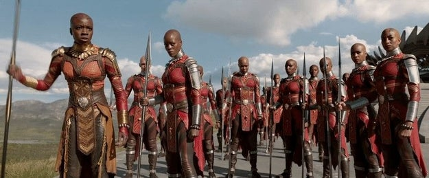 Moreover, Black Panther also showcases and celebrates an incredible slew of strong female characters.