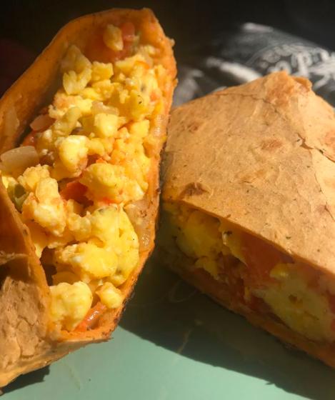 Colorado: Breakfast burritos.