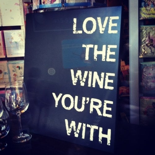 Cozy up to the bar or grab a table at Guyer's for a $6 glass of owner Cindy Guyer's favorite Pinot Noir, normally $16.