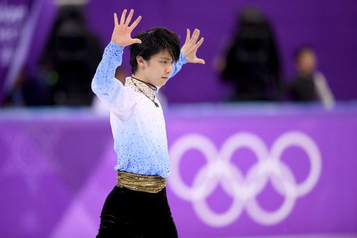 3ヶ月前に大怪我を負ったものの、復帰戦となった平昌オリンピックのSPで111.68点と高得点でトップに輝いた。