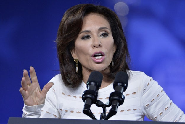 This is Fox News host Judge Jeanine Pirro. She's the host of a show called...Justice with Judge Jeanine.