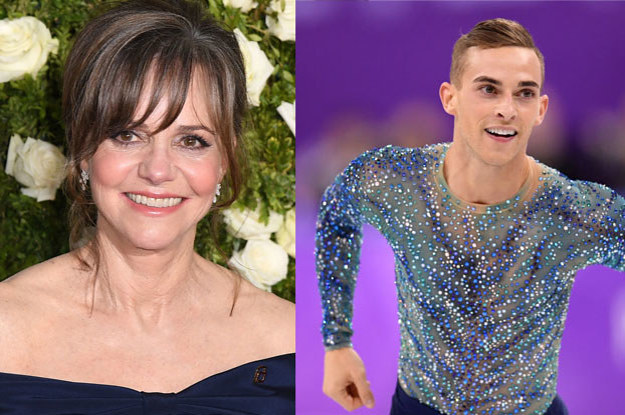Sally Field, The World's Most Extra Mom, Tried To Set Her Son Up With Adam Rippon