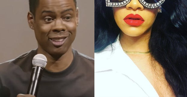 Chris Rock Talked About The Time He Tried To Flirt With Rihanna And She Was Like Nah