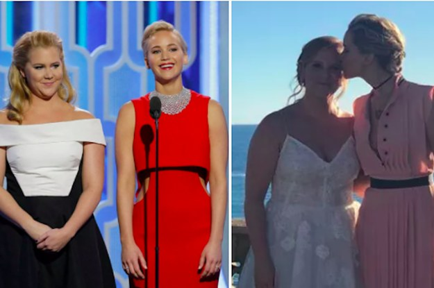 Jennifer Lawrence Just Opened Up About Her BFF Amy Schumer's Surprise Wedding