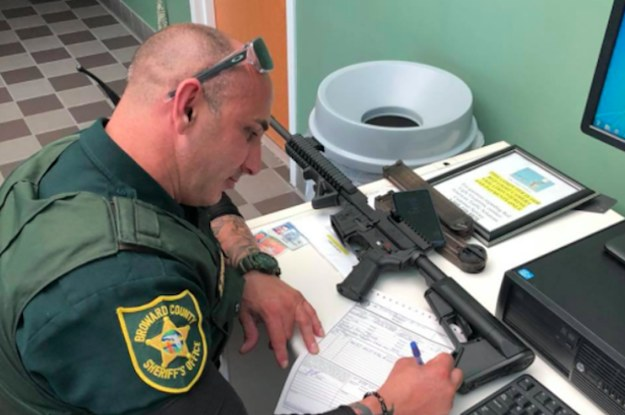 """""""I Do Not Need This Rifle"""": This Florida Man Gave Up His AR-15-Style Weapon Because Of The..."""