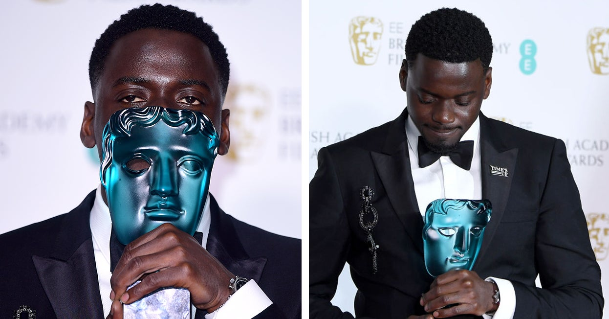 Daniel Kaluuya Thanked His Mum In His BAFTAs Speech And It's Honestly Adorable