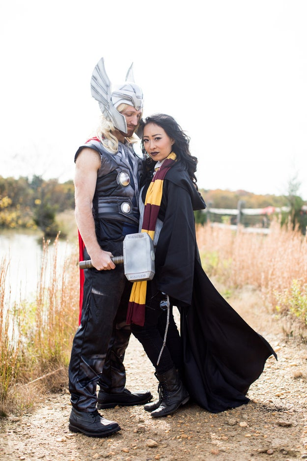 Even though Thor and Harry Potter will probably never have a crossover, Nguyen and Huntley made the combination work.