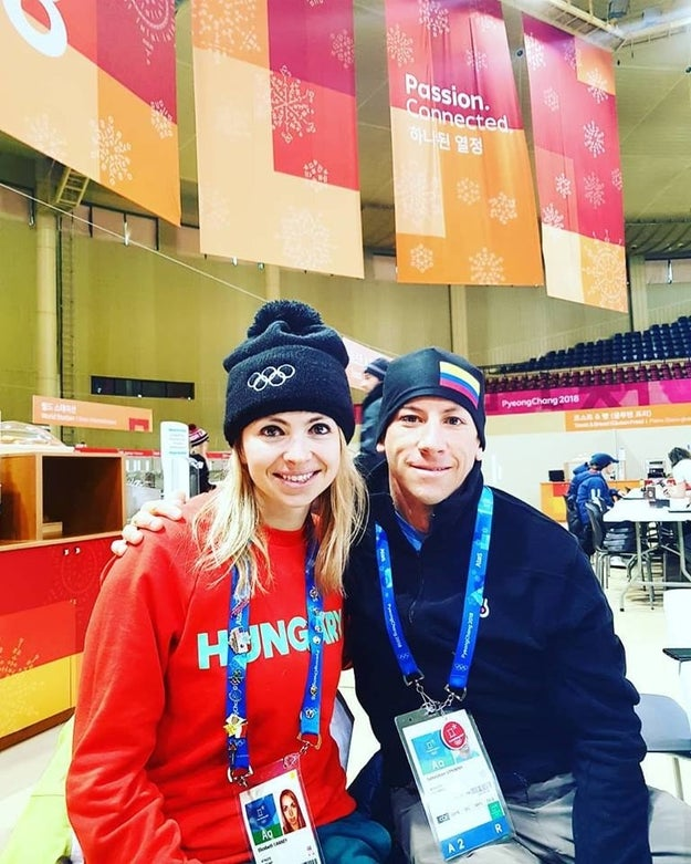 Swaney is an American skiing for Hungary, and managed to place on the team thanks to a combination of factors.