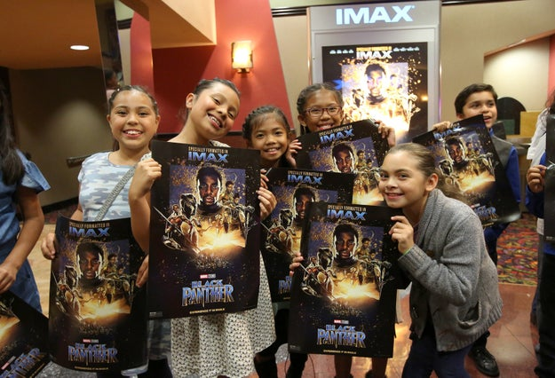 """Black Panther"" roared into theaters over the long weekend, earning a record $370.8 million worldwide and exciting fans young and old."